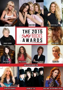 She Rocks Awards Poster